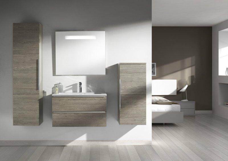 Badkamermeubel avanti badkamermeubel plaatsen in plaats van wastafel voordemakers u badkamer - Plaats van interieur decoratie ...