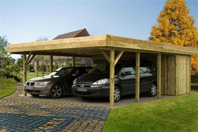 Carports - Bouwcenter Frans Vlaeminck NV