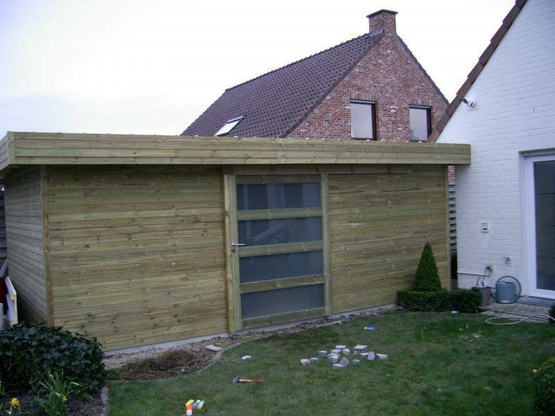 door onze paneelconstructies zijn onze tuinhuizen ook makkelijk te plaatsen de handige dhzer kan deze dan ook zelf plaatsen